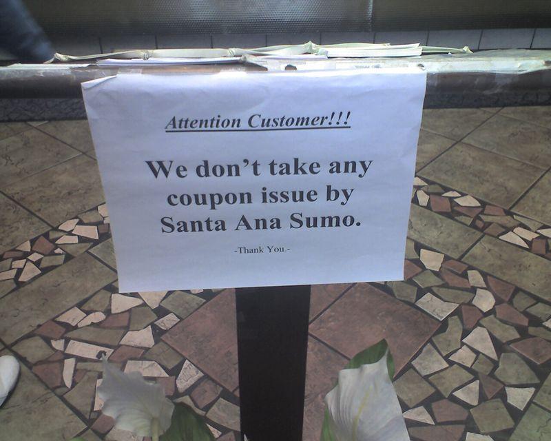 Buh Bye Sumo