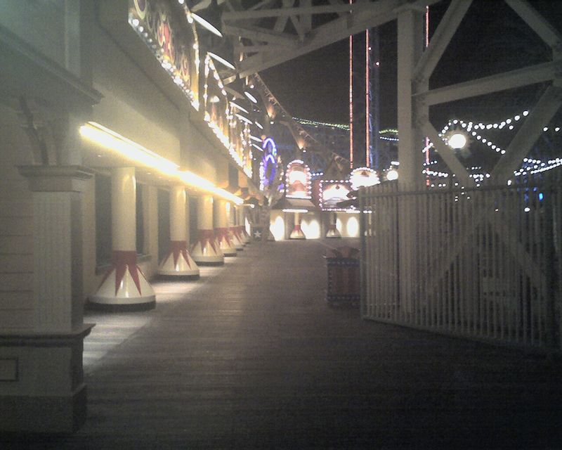 Empty Boardwalk