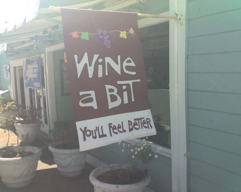 Wine a Bit?