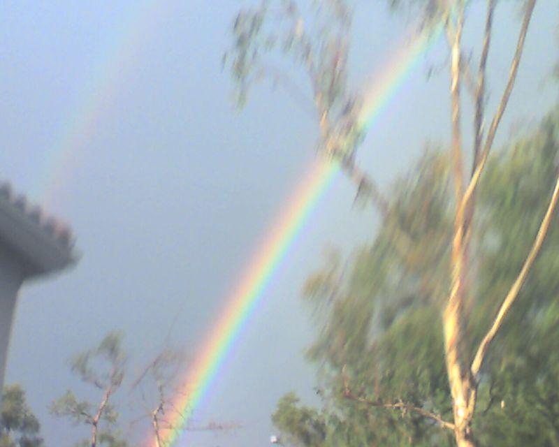 Rainbows and Hail