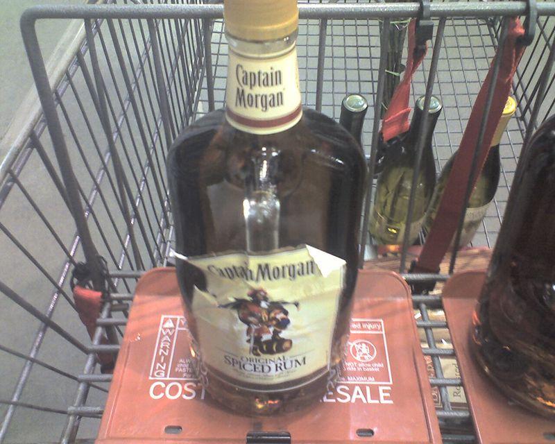 Defective Rum Label