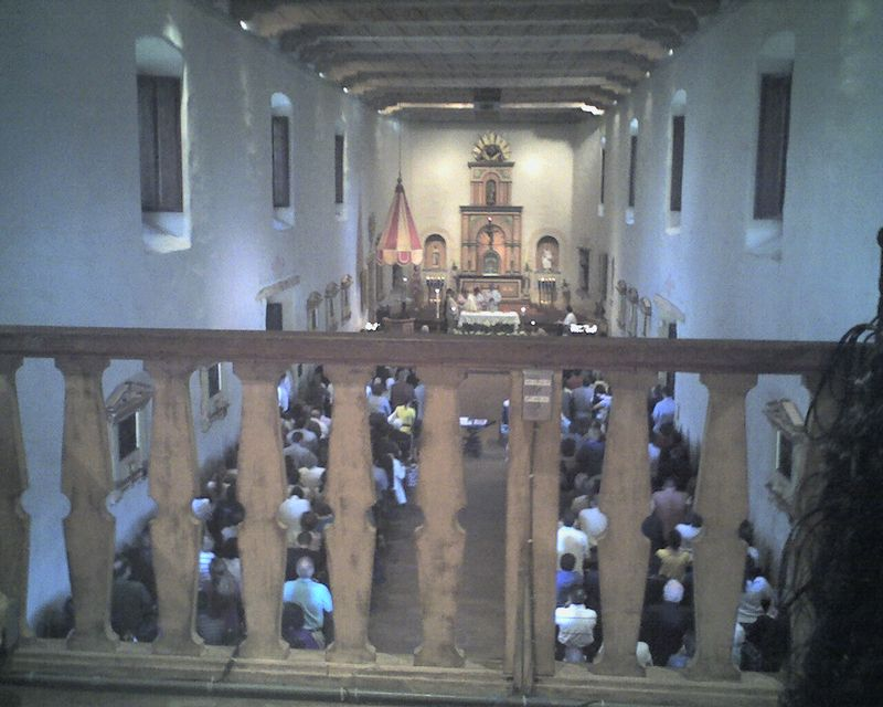 Easter Mass @ Mission San Diego
