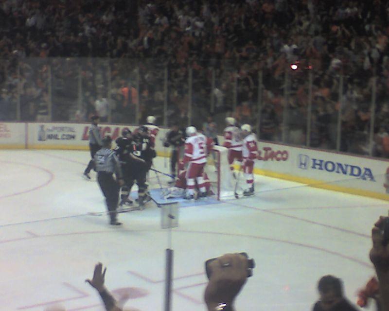 Ducks 2 Red Wings 1