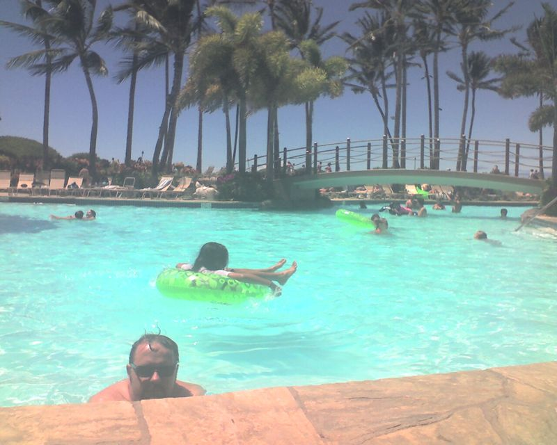 Summer Beach Trip - Tropical Storm Day