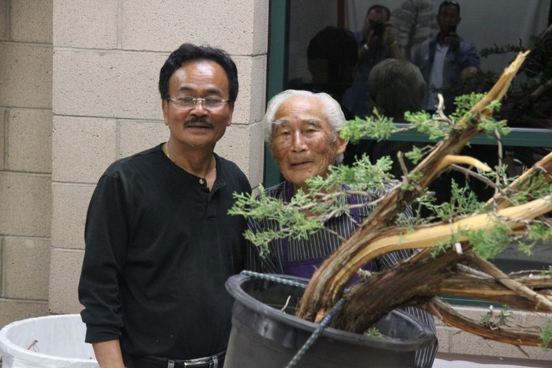 Harry Hirao and David Nguy - California juniper