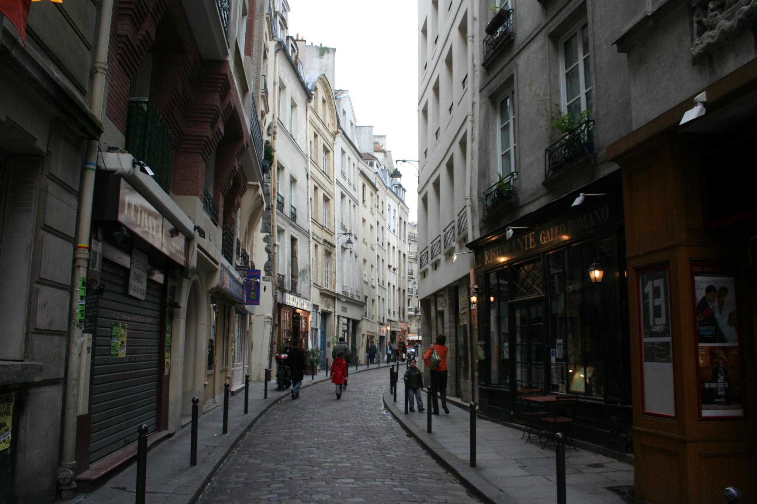 Parisbackstreets