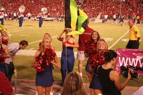 #18 - Arizona Cheerleaders